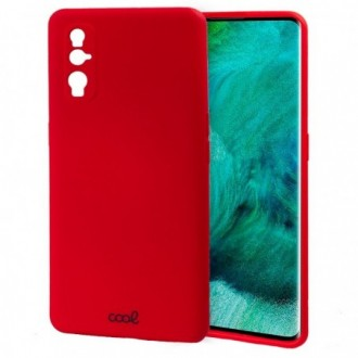 Carcasa COOL para Oppo Find X2 Cover Rojo